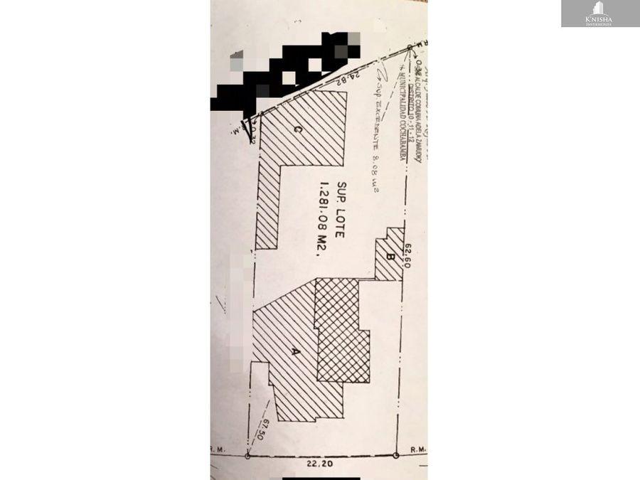 terreno av l bolivar prox america 1100 m2