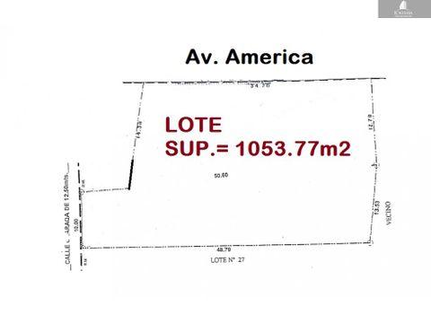 terreno prox america y beijing 1001081