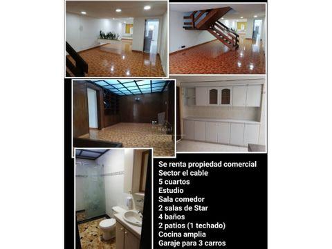 casa en alquiler sector guayacanes
