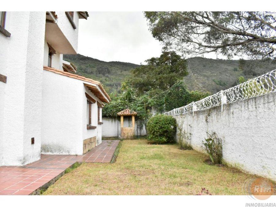 venta casa en cota mc