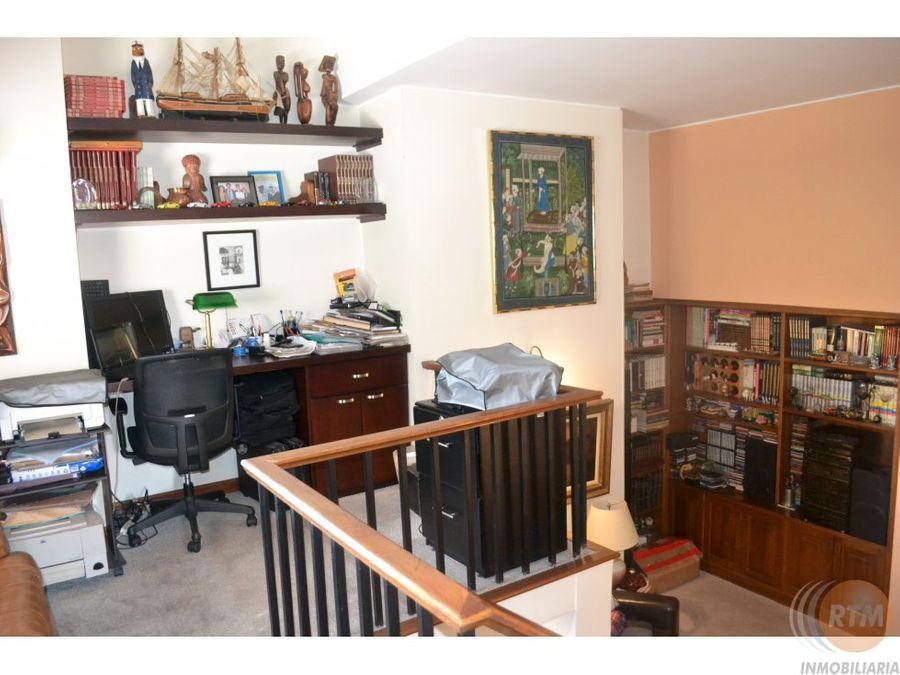 vendo apartamento de 3 niveles el bosque bf