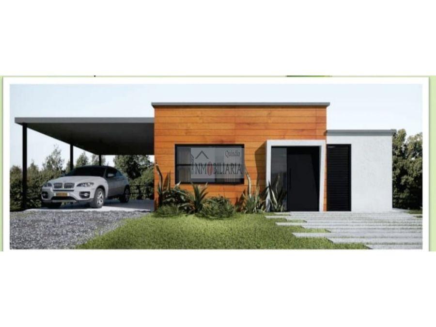 venta de casa campestre via comfenalco armenia q