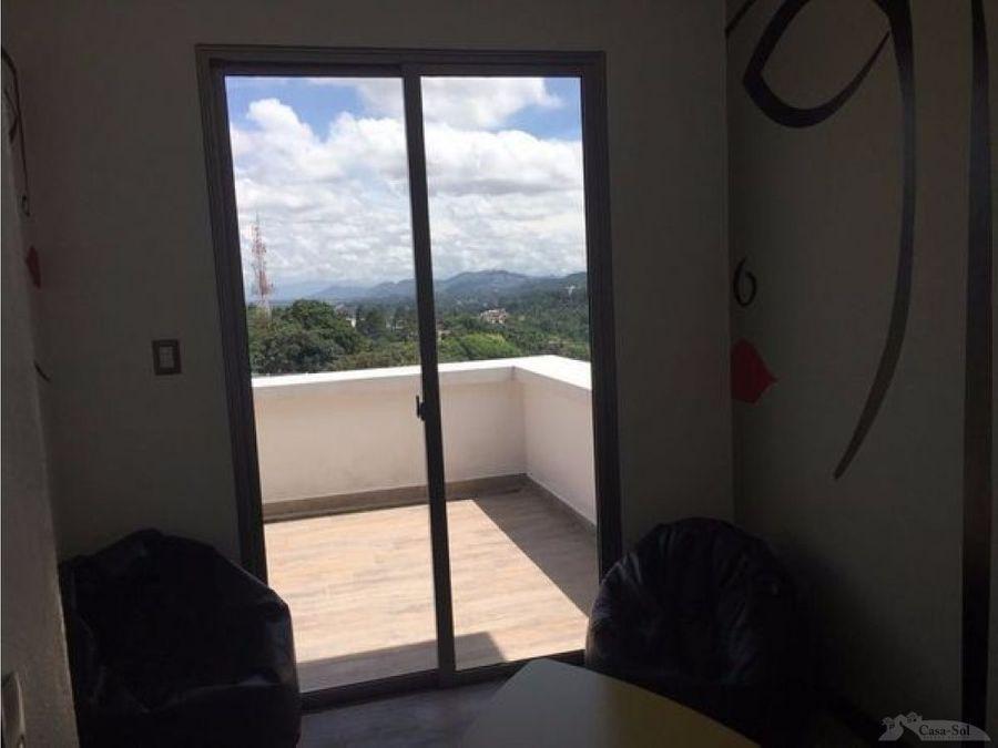 apartamento en renta para estudiante z16 d
