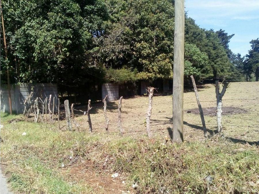 terreno en renta km20 carr a el salvador c1