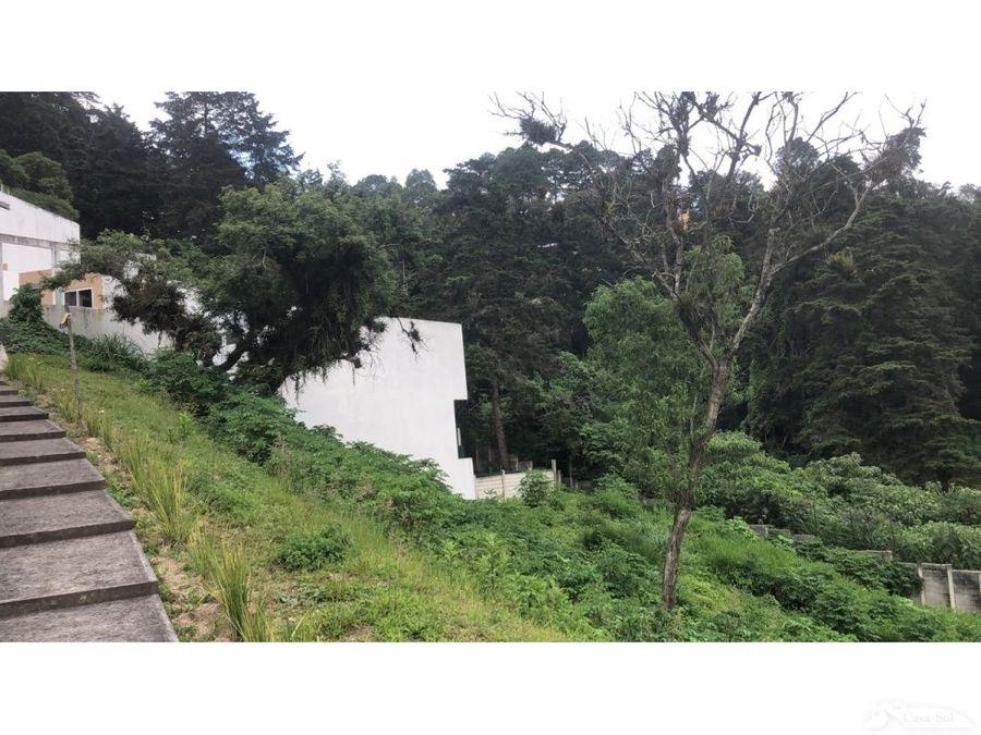terreno en venta en condominio alto valle c1