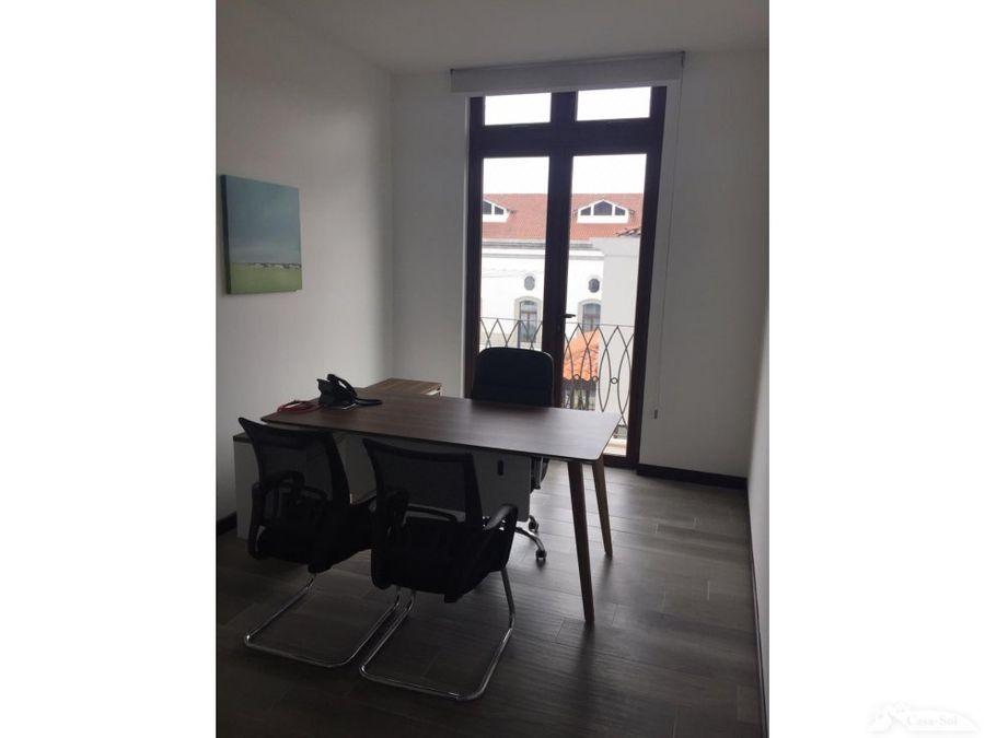 oficinas en distrito negocio cayala alquiler