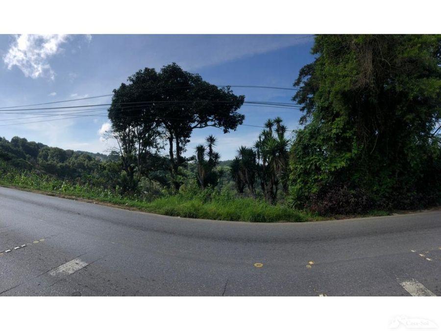 terreno en venta en carretera a el salvador c1