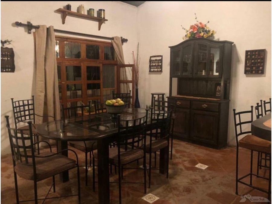granja con casa amueblada en venta