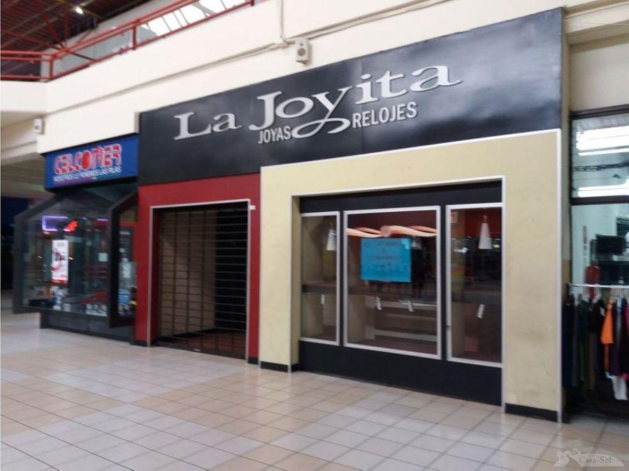 local en venta primer nivel galerias del sur c1