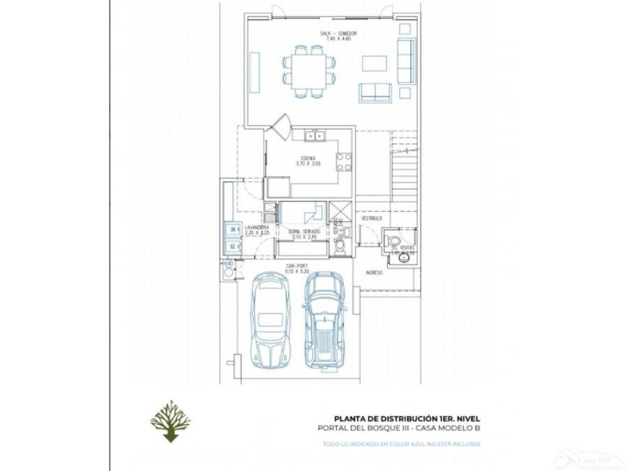 casa en venta portal del bosque iii tipo b d
