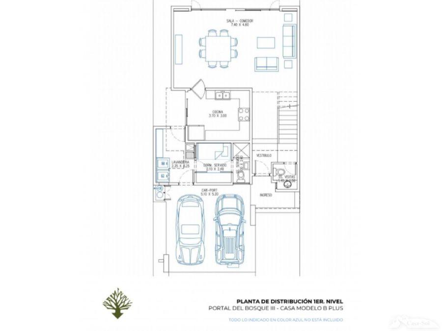 casa en venta portal del bosque iii tipo b plus d