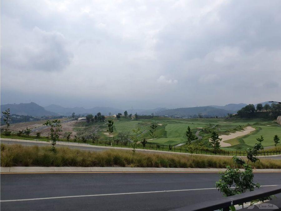 terreno en venta en el pulte golf d