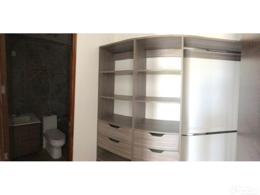apartamento en renta en edificio leben zona 15 d