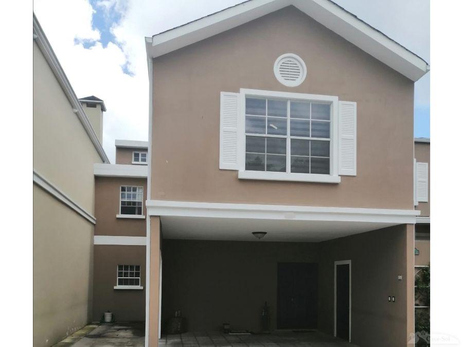 venta de casa en residencial paseo km 135 ces