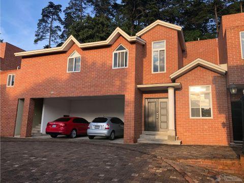 casa en renta y venta kanajuyu ii zona 16 d