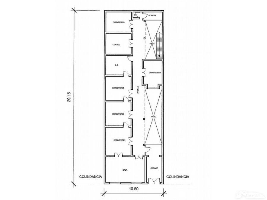 casa ideal para proyecto en venta en zona 1 d