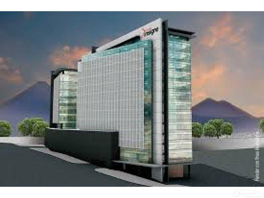 oficinas en renta en edificio insigne zona 15 d