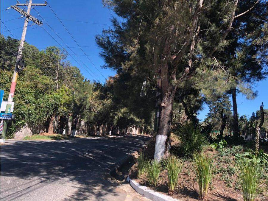 terreno en venta en carretera a fraijanes d