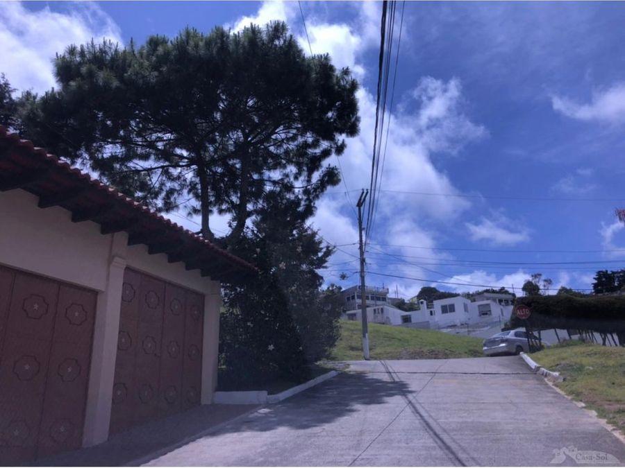terreno en venta condominio villas el renacer ii san jose pinula