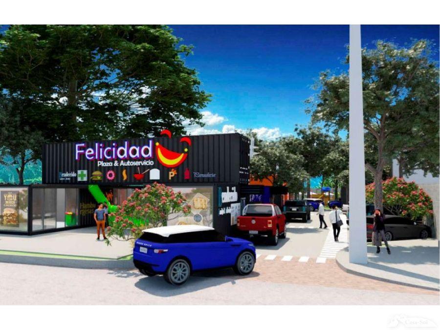 espacio para food trucks de plaza felicidad d