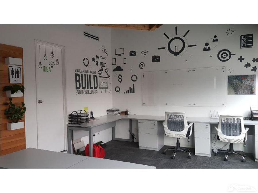 oficina de 93 m2 en interamericas zona 10 d