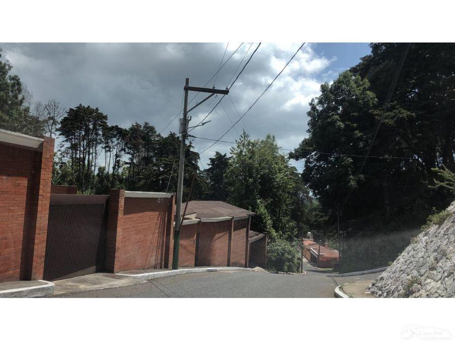 terreno en hacienda la mirage cae d