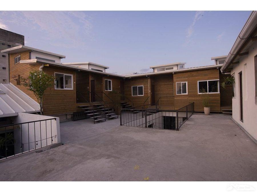 apartamento 16 b en renta casa amberes zona 1