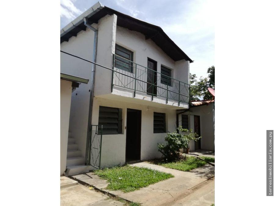 vendo propiedad con viviendas indep en luque