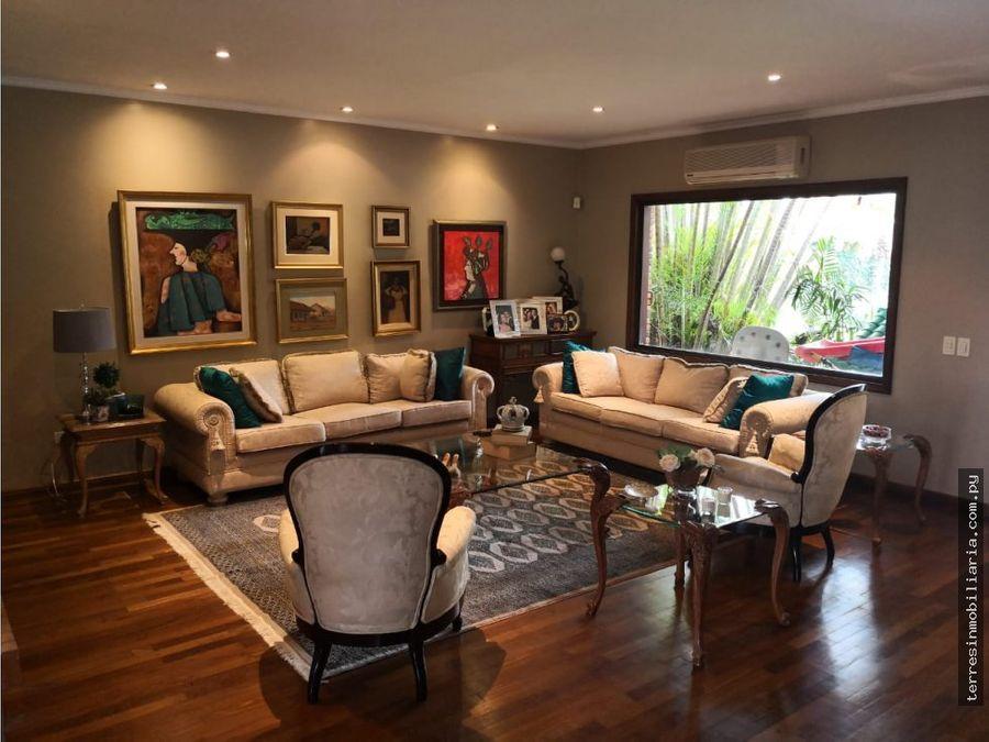 en venta exclusiva residencia en carmelitas