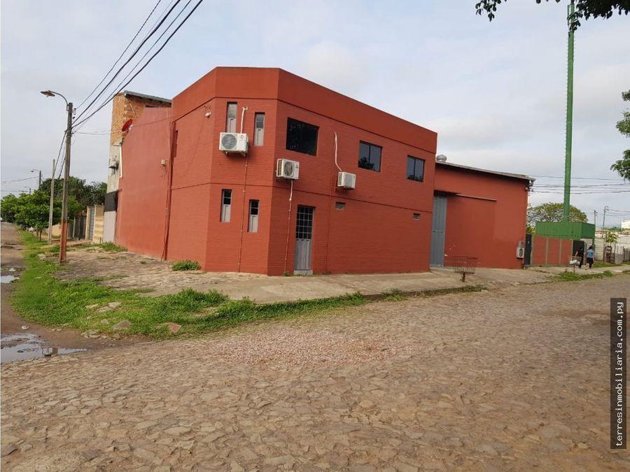 terres vende deposito con oficinas en mra