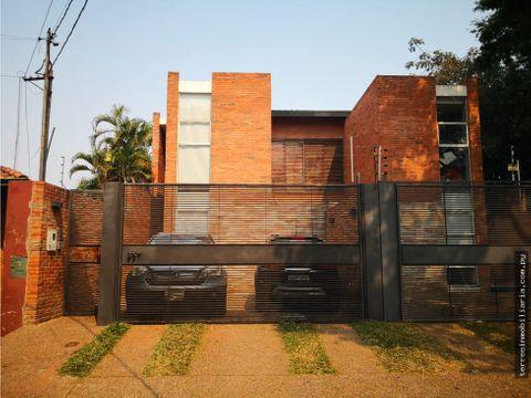 vendo duplex modernominimalista en pleno mburucuya