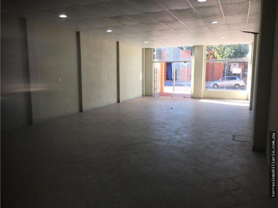 terres alquila amplio salon comercial sobre ruta luquesan lorenzo