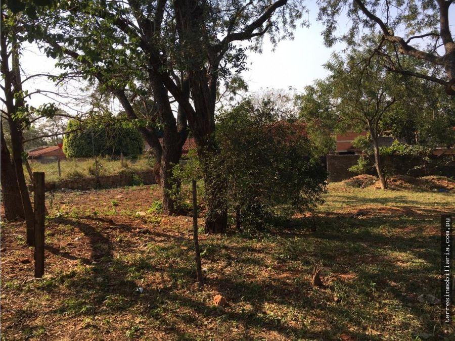 vendo terreno en fdo de la mora