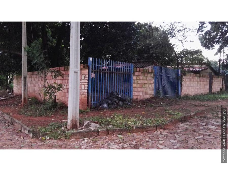 terres vende terreno con casita enfrente al sek