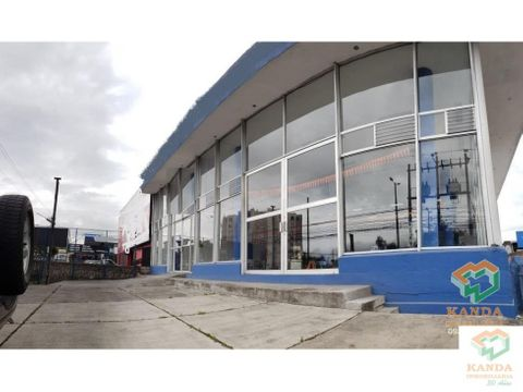 concesionario local en arriendo norte de quito