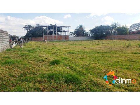 5000 m2 ideal constructores puembo terreno en venta