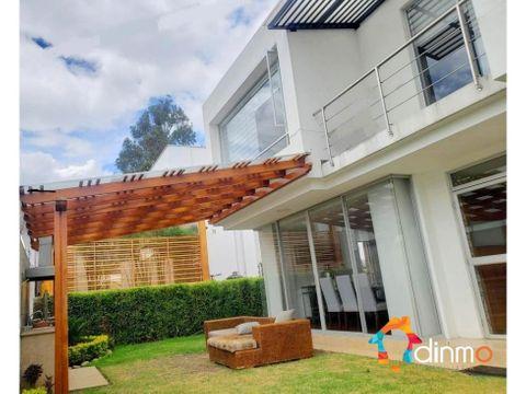casa de venta en cumbaya colegio terranova jardin bbq balcon