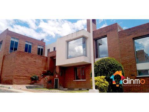 casa en arriendo 2 pisos cumbaya sector universidad san francisco