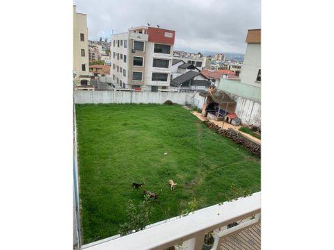 terreno urbanizado en venta solca quito