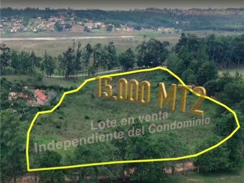 lote 15000 m2 vecino al condominio mirador del lago en bucaramanga