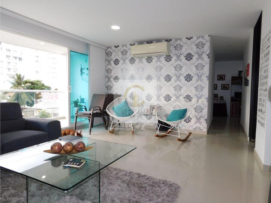 venta de apartamento en crespo cartagena