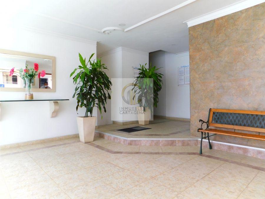 vendemos apartamento en manga con vista a la bahia cartagena