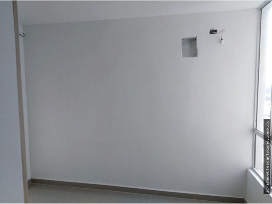 apartamento con acabados en edificio aqualina