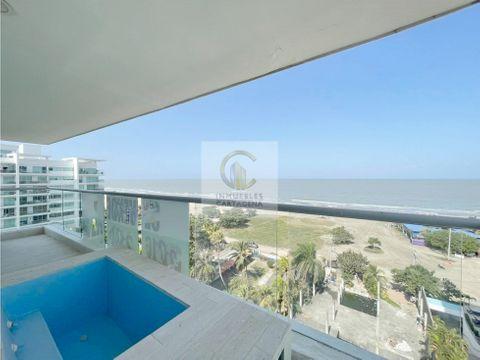 vendemos apartamento en la boquilla vista al mar cartagena
