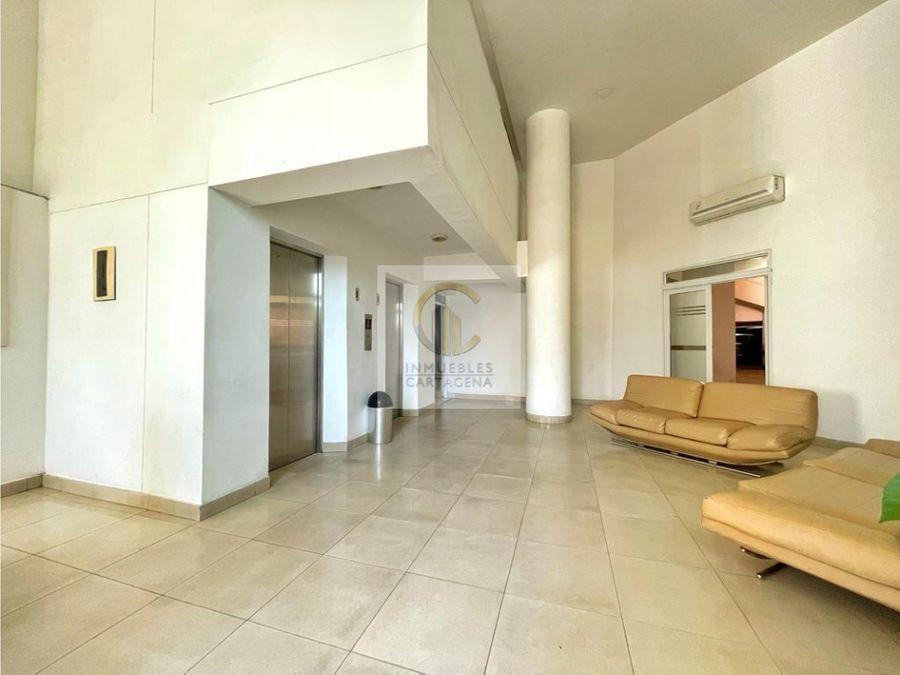 venta de apartamento en edificio sky ii de una alcoba cartagena