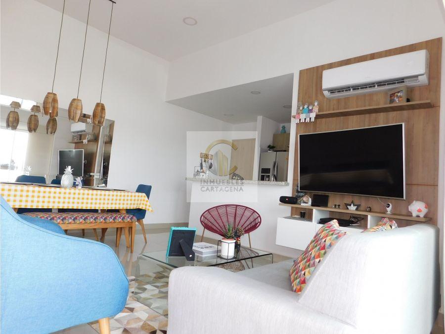 venta de apartamento en el pie de la popa cartagena