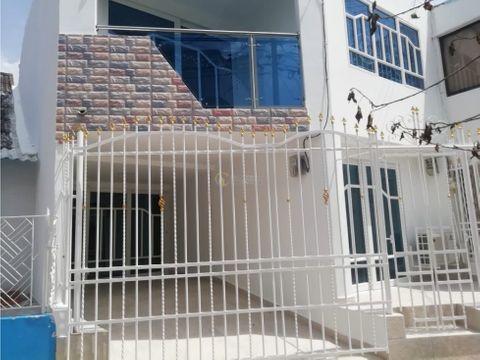 vendemos casa en barrio el socorro cartagena
