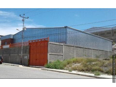 galpon en venta zona oeste barquisimeto 20 24361 mf