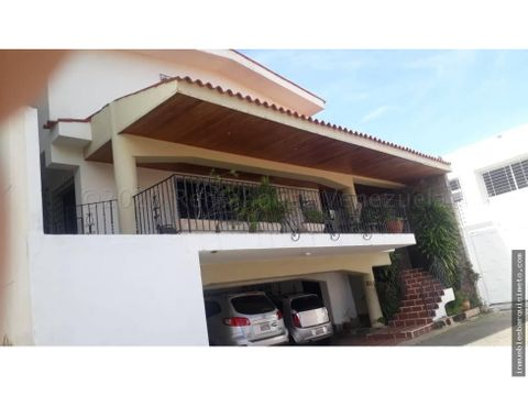 casa en venta en barquisimeto coli del turbio 21 7419 rwa