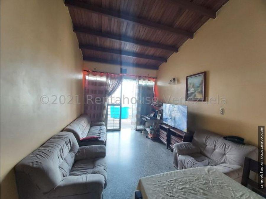 casa en venta la mora cabudare 21 27574 jcg